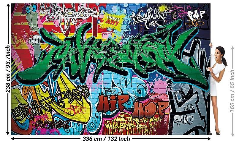 great art fototapete street style wandbild dekoration graffiti art writing pop art schriftz ge. Black Bedroom Furniture Sets. Home Design Ideas