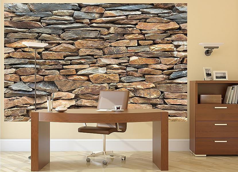 fototapete schiefer stonewall wandbild dekoration 3d. Black Bedroom Furniture Sets. Home Design Ideas