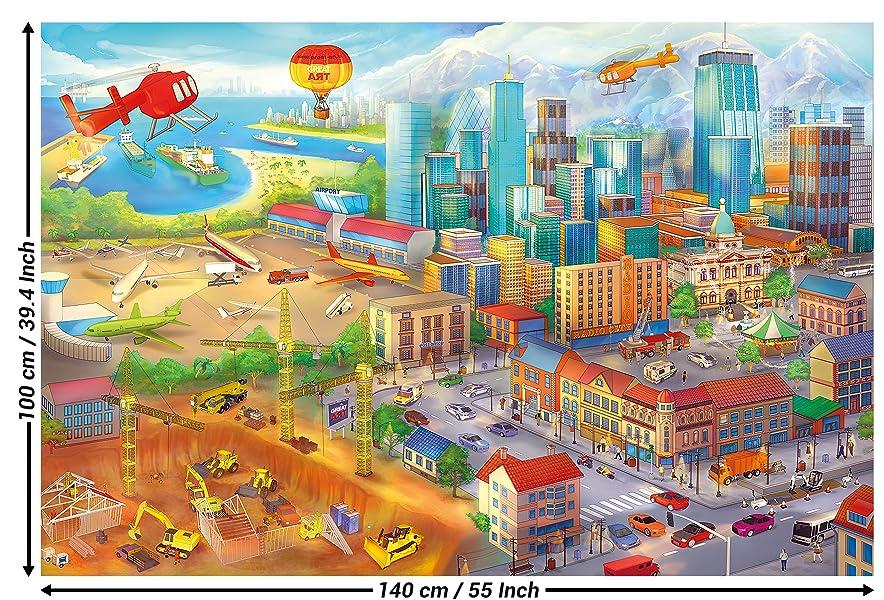 great-art Poster Kinderzimmer Comic Style Wandbild