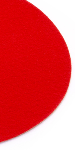 Eventteppich Rutschfest SALSA 2,00m x 8,00m Rot Hochzeitsl/äufer Hochzeitsteppich VIP-Teppich Schwer Entflammbarer Teppichl/äufer Empfangsteppich
