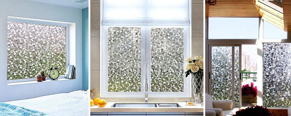 cottoncolors statische 3d fensterfolie sichtschutzfolie glasdekofolie geeignet f r. Black Bedroom Furniture Sets. Home Design Ideas