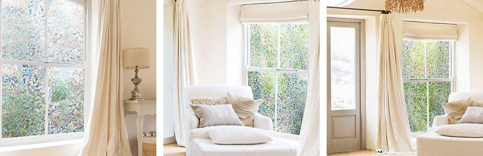 Cottoncolors fensterfolie sichtschutzfolie glasdekofolie selbstklebend blickdicht - Fensterglas austauschen rahmen behalten ...
