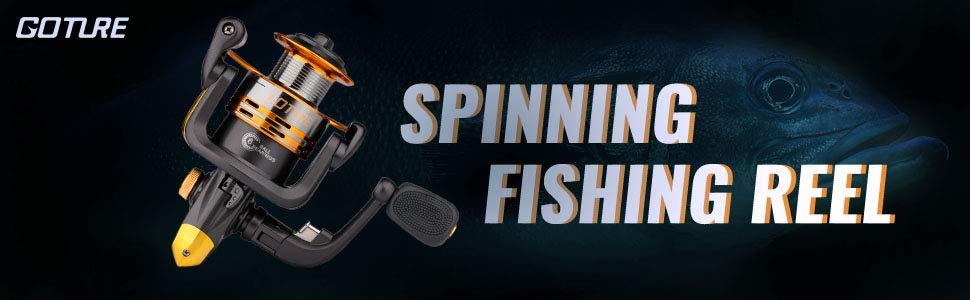 SPINNING FISHING REEL