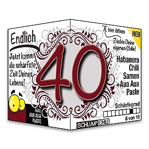 Endlich 40 Das Witzige Scharfe Geburtstagsgeschenk Fur Manner Und