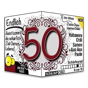 Endlich 50 Das Witzige Scharfe Geburtstagsgeschenk Fur Manner Und