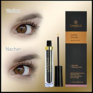 Wimpernserum SUPERB Eyelash 4 ml. by CHAVELLE Cosmetics