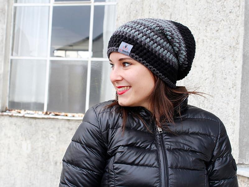Myboshi Häkelset Mütze S152 A8 Mit Wolle Und Häkelnadel Zum