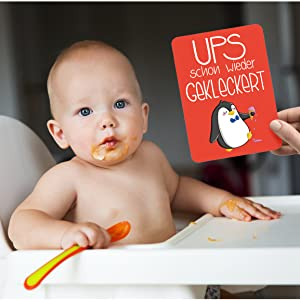 Fotokarten Babykarten Glückswolke