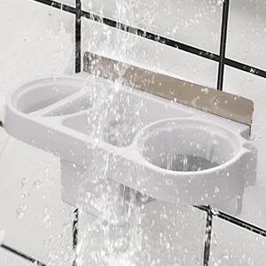 Fönhalter ohne Bohren, Multifunktionale Badezimmer regal ...
