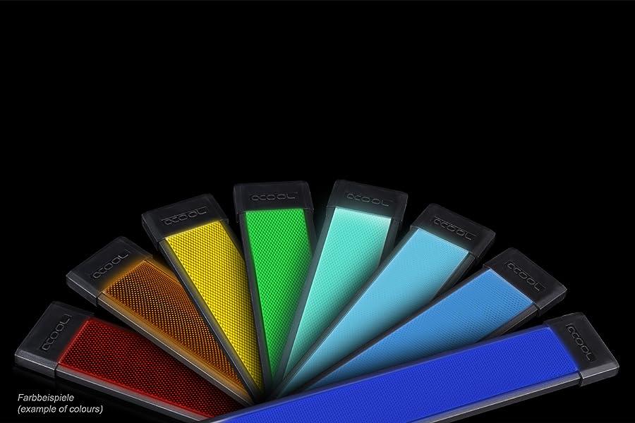 low priced c2c60 cd244 Alphacool 15294 Eislicht LED Panel - RGB (ohne RGB Controller) Modding LEDs