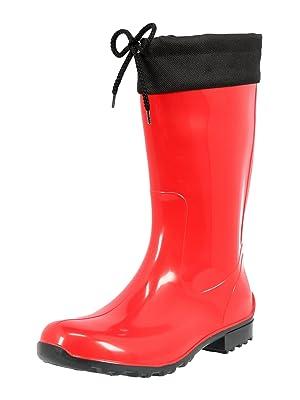 pretty nice d7427 16250 KREXUS 17 - Damen Gummistiefel PVC - Regenschuhe - Regenstiefel - Viele  Farben