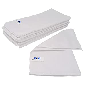 Sbs Microfasertücher 10 Stück 30 X 30 Cm Waschbar Weiß Für Haushalt Auto Motorrad Etc Putztücher Poliertücher Haushaltstücher Küche Haushalt