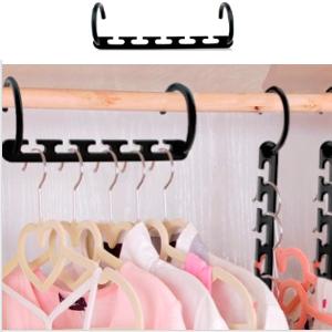 Stauraum spart Kleidung Kleiderb/ügel Haken f/ür Haushalt Organizer Kleiderschrank Magic Kleiderb/ügel