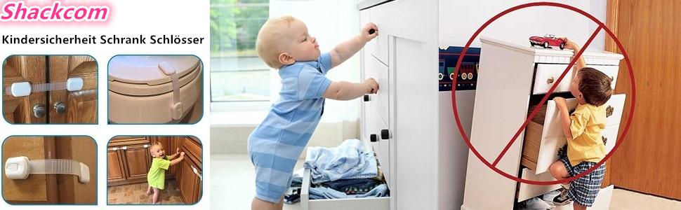 kinder sicherheit kleinkind baby schrank kühlschrank schublade tür