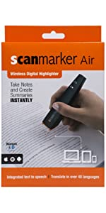 Scanmarker Air Bluetooth Scanner Pen With Ocr Text Computers Accessories