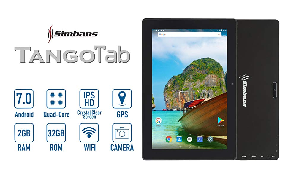 Simbans Tango 10 inch Android Tablet