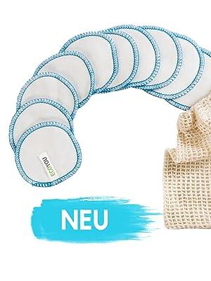 Waschbare Abschminkpads wiederverwendbare Pads aus Baumwolle EcoYou Zero Waste Badezimmer Bad Eco
