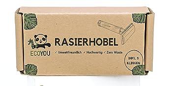 Rasierhobel Box Rasierer plastikfrei