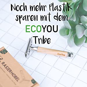 EcoYou Rasierhobel nachhaltige Produkte ohne Plastik plastikfrei Zero Waste Eco You