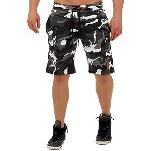 8e6782f62444 Höhenhorn F1022 Herren Sweat Short Kurze Hose Bermuda Sweatpant ...