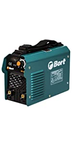 2.5-5 mm 180-250 V 5700 W Bort Elektro-Schwei/ßger/ät BSI-220H 10-200 A IP21S