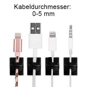 Kabelclips f/ür den Innen Au/ßenbereich mit Klebeb/ändern Kabelmanagement Dekorationsclips Selbstklebende Haken Drahthalter f/ür Weihnachten Lichterketten USB Ladekabel Schwarz