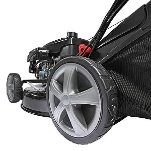 BRAST Benzin Rasenmäher 4,4kW (6PS) incl. Selbstantrieb GT Markengetriebe 196ccm Rad Räder