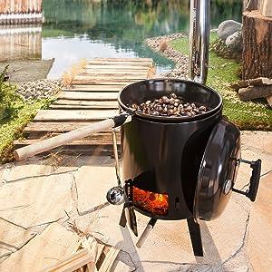 BRAST Eintopfofen mit Grillfunktion Ofen Kugelgrill