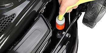 BRAST Benzin Rasenmäher 4,4kW (6PS) incl. Selbstantrieb GT Markengetriebe 196ccm Easy Clean