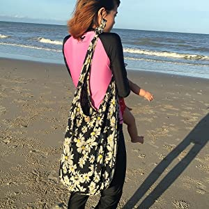 Hobo hippie shoulder bag yam canvas bag shopping bag festival hipster 100% cotton loop relax artist