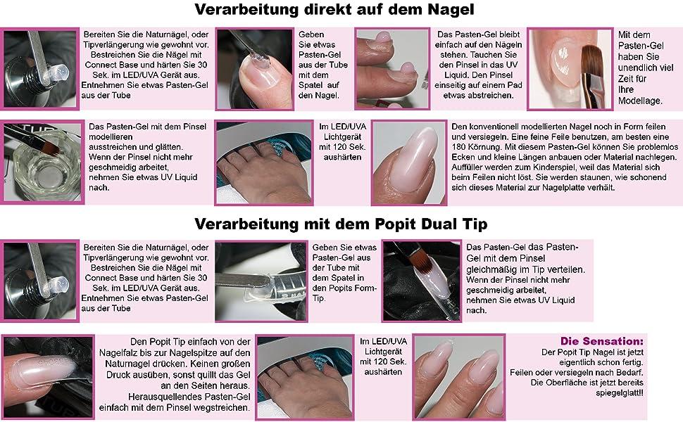 Hollywood Nails Polyplast Connect Base 10 G Poly Acrylgel