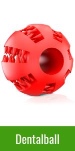 Dentalball für Hunde Spielzeug