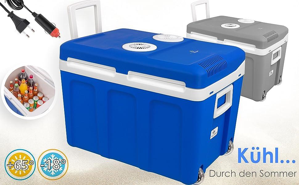 Kühlbox Beruf Kühltasche Thermobox für Auto Mini-Kühlschrank 2 in1 24-40L Essen