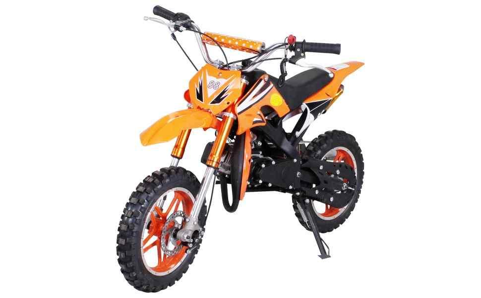Alu Lenker Mini-Cross silber Motorrad Motocross Enduro MX Moto Cross