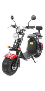 electro, elektro, scooter, elektroscooter, eflux, flux, harley, Straßenzulassung