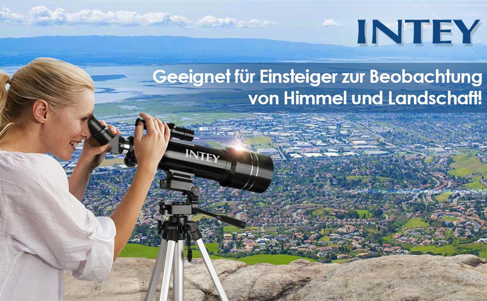Intey super klares teleskop tragbares astronomisches: amazon.de: kamera
