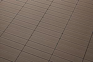 sam terrassen fliese wpc kunststoff einzel klickfliese farbe schoko garten balkon bodenbelag. Black Bedroom Furniture Sets. Home Design Ideas