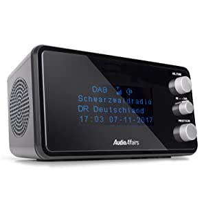 Audioaffairs Digitaler Radiowecker Dab Ukw Elektronik