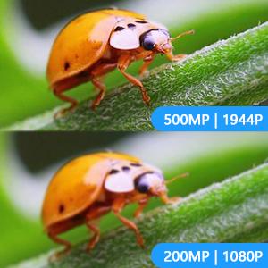5.0 Megapixels Wireless Endoscope HD 1944P