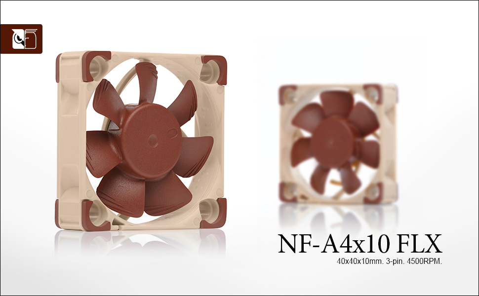 Noctua NF-A4x10 FLX, Leiser Premium-Lüfter, 3-Pin: Amazon