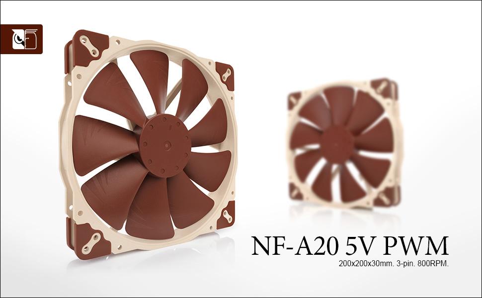 Noctua Nf A20 5v Pwm Leiser Premium Lüfter Mit Usb Computer Zubehör