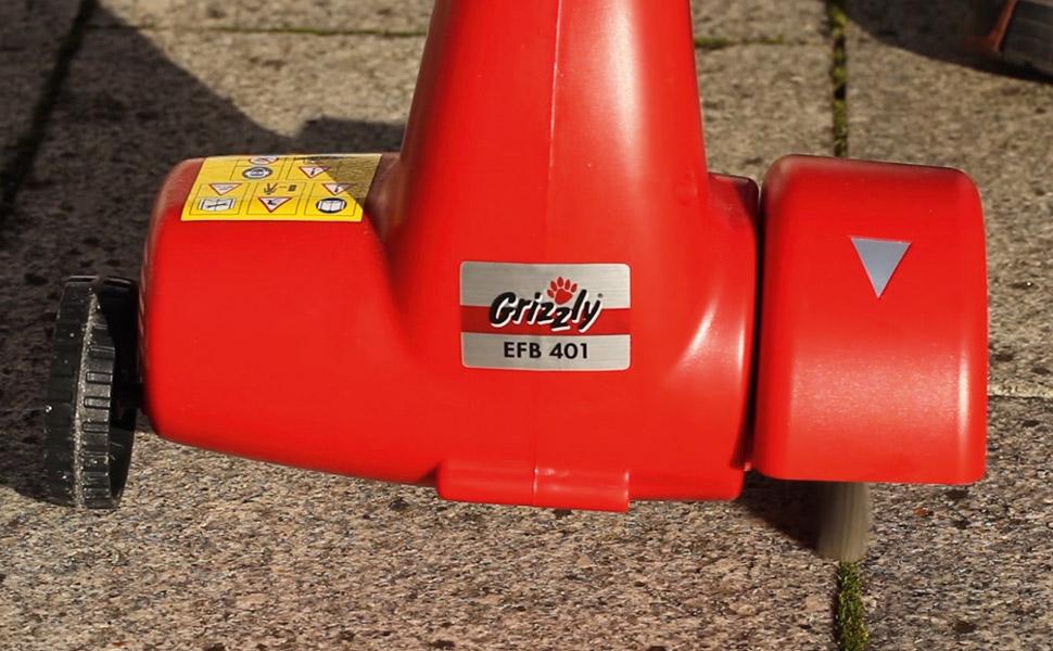 Grizzly Fugenbürste EFB 401 umweltfreundliche Unkraut Entfernung