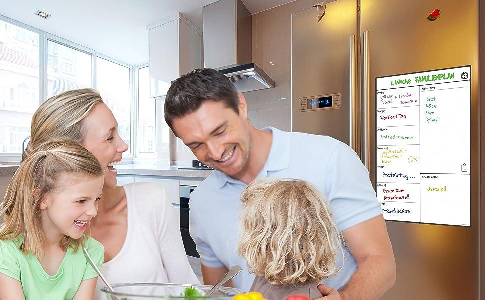Kühlschrank Planer : Magnetisches whiteboard kühlschrank kalender von smartpanda