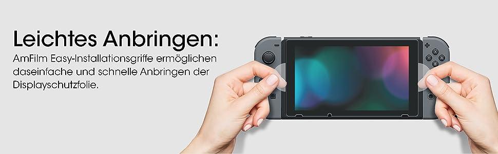 Nintendo Switch Leichtes Anbringen