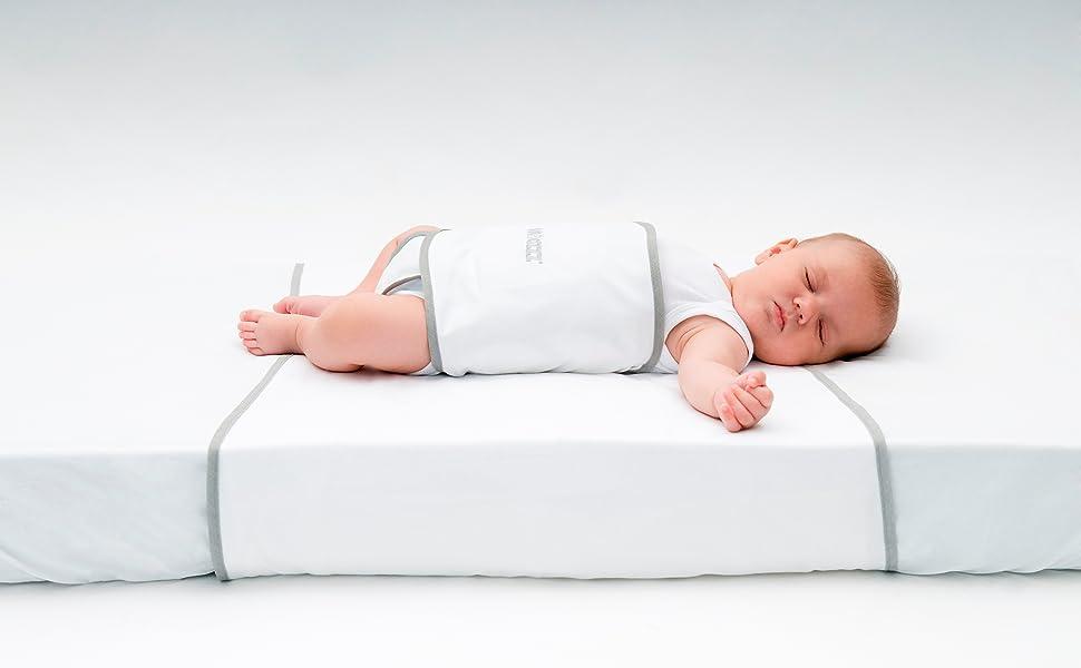 Snoozzz Wickel f/ür die verwendung in kombination mit Snoozzz Schlafhilfe 3 bis 24 Monate