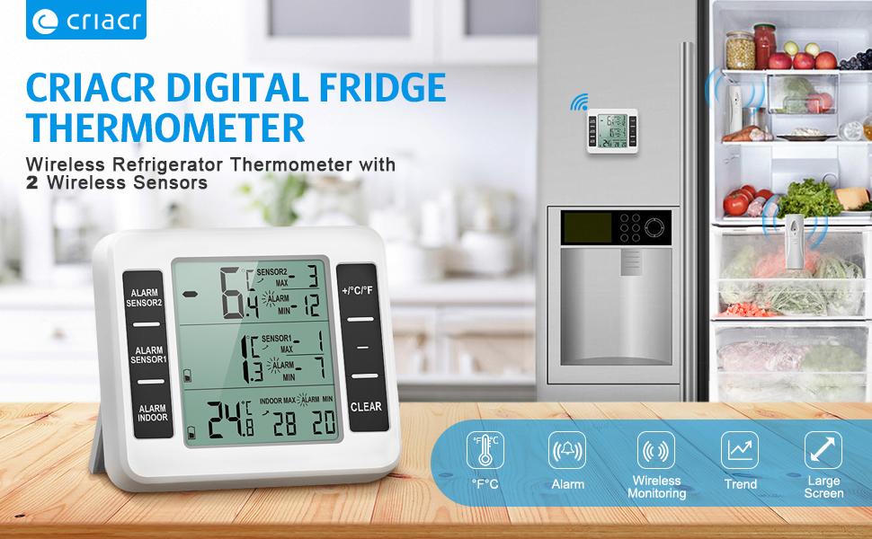 Kühlschrank Alarm : Amir kühlschrankthermometer gefrierschrank amazon elektronik