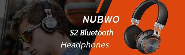 NUBWO S2 BLUETOOTH HEADPHONES