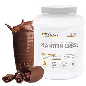 Erbsenprotein vegan Schokolade lecker