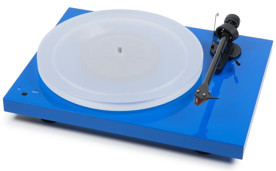 Pro Ject Debut Carbon Dc Esprit Sb 2m Red Blau Audio Hifi