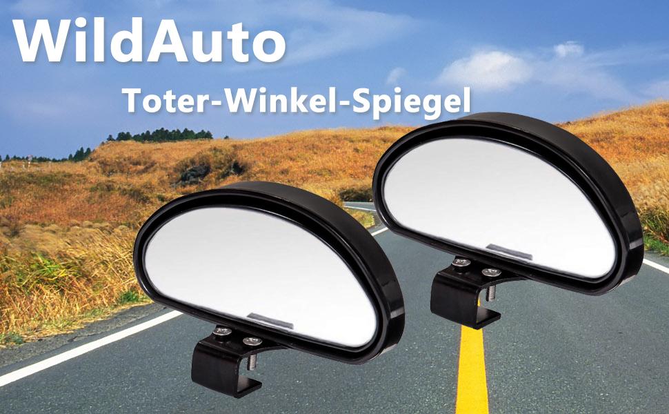 Hanbaili 2 St/ück Toter-Winkel-Spiegel Automobil-Toter-Winkel-Spiegel Universal Trainer R/ückspiegel HD verstellbare R/ückspiegel Konvexspiegel